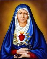Notre Dame Des 7 Douleurs : notre, douleurs, Saints, Septembre, Notre-Dame, Sept-Douleurs,, Sainte, Catherine, G�nes