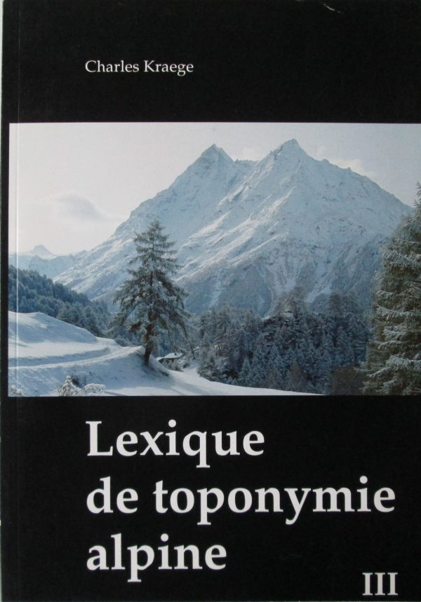toponymie alpine