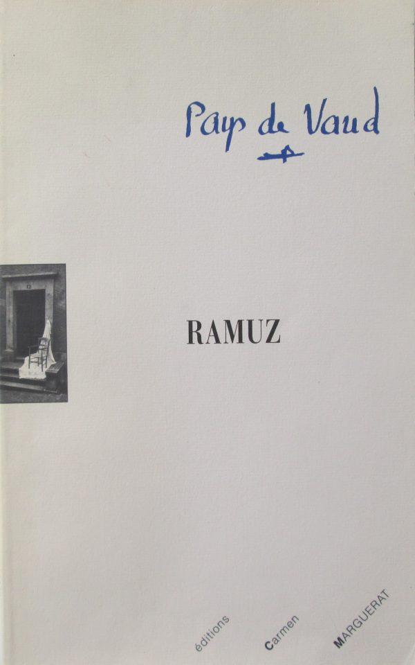 Pays de Vaud Ramuz