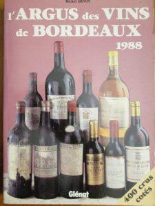Argus vins Bordeaux