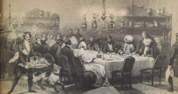 A table les Français
