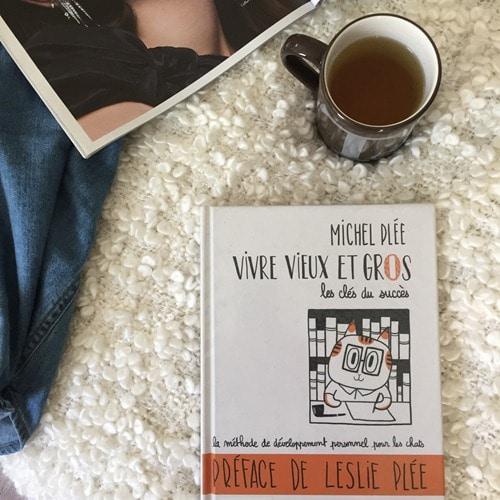 BD Vivre vieux et gros - Michel Plée