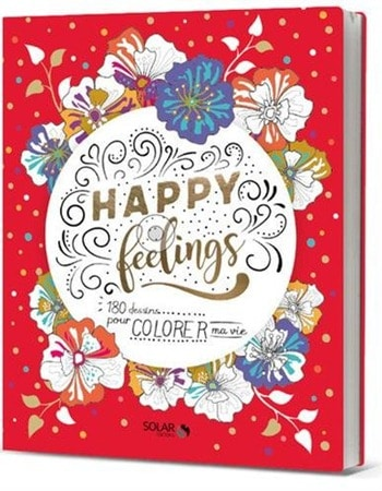 Coloriage happy feelings