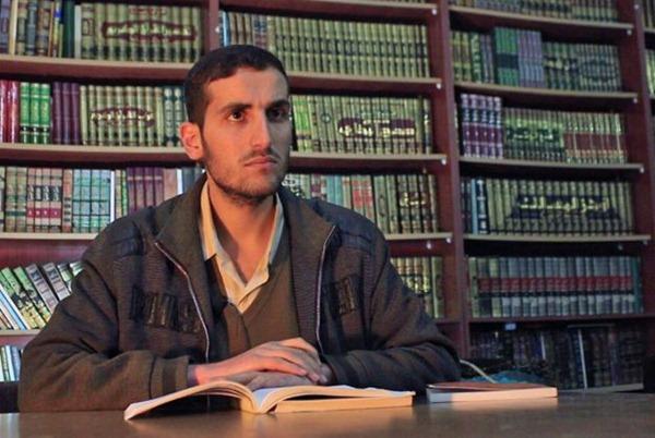 Ahmad un des fondateurs de la bibliothèque - source ©Malek BBC