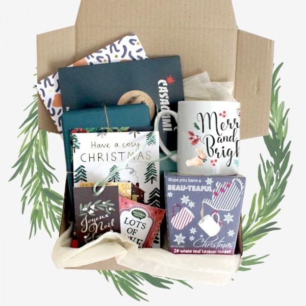 Box littéraire serie Limitée Noël - box Hygge