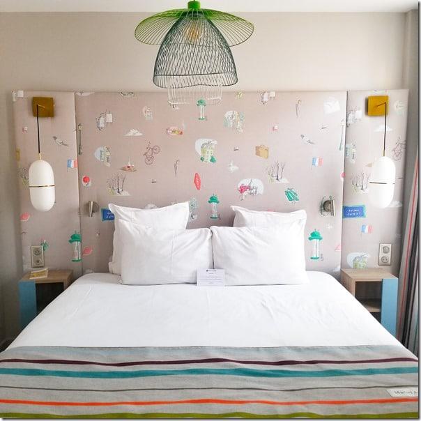 Chambre Jument Verte Hotel littéraire Marcel Aymé paris
