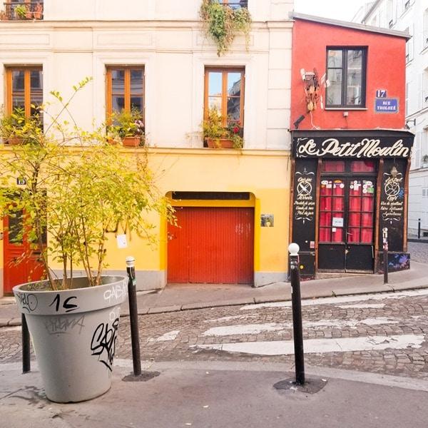 Montmartre- hotel Marcel Ayme- vue-