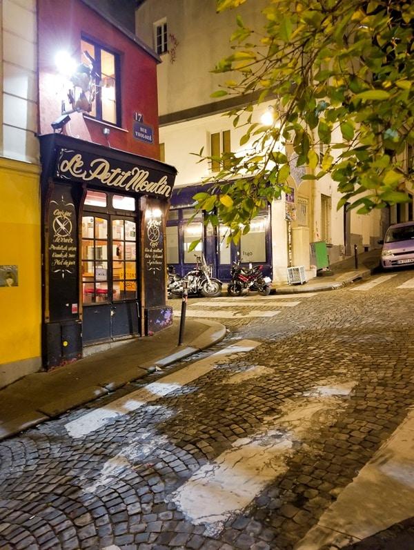 Vue -Hotel Montmartre- littérature- Marcel Aymé