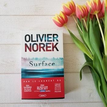 Olivier Norek - Surface - Blog littéraire