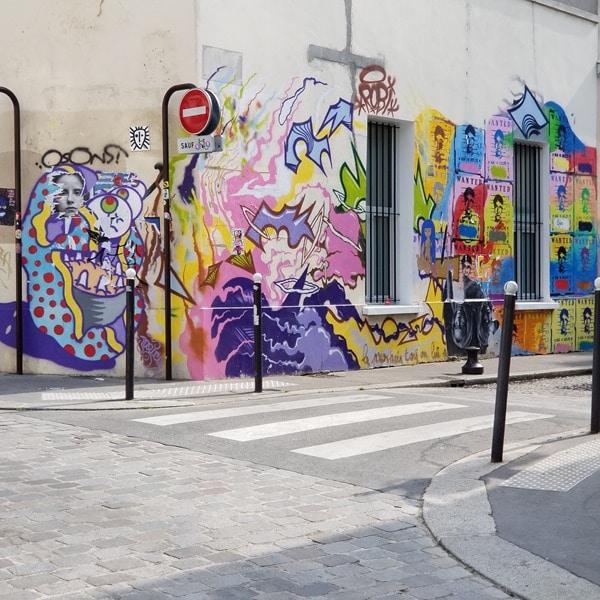 Visite Paris - Street art La Butte aux cailles (2)