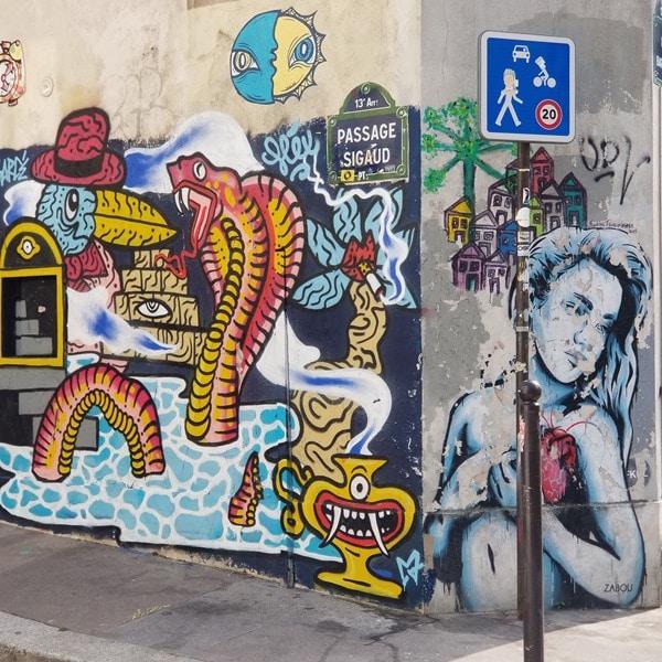 Visite Paris - Street art La Butte aux cailles (5)