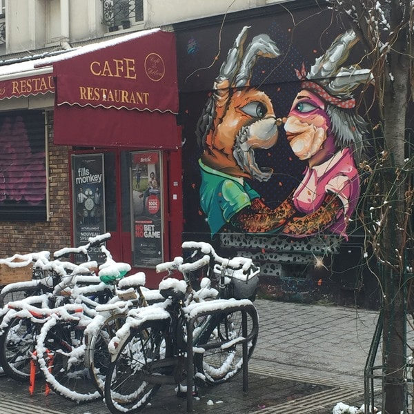 Visite Paris Streetart Belleville