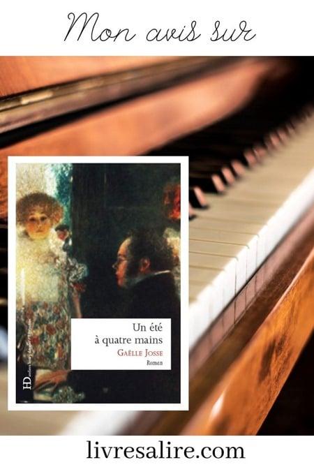 Gaelle Josse - blog littéraire - un été à quatre mains