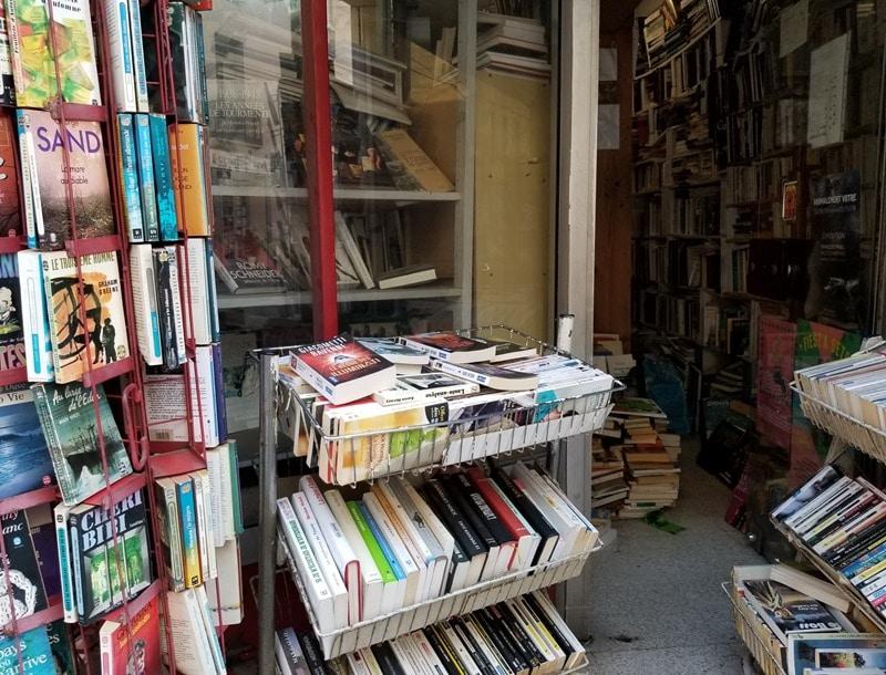 Bouquiniste Sète Blog littéraire