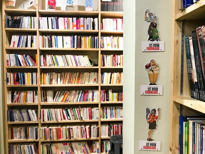 Librairie livres d'occasion
