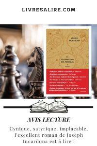 Blog littéraire avis lecture Joseph Incardona - La soustraction des possibles