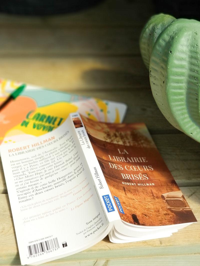 Robert Hillman livre - la librairie des cœurs brisés