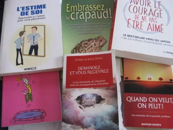 photos livres pensée positive