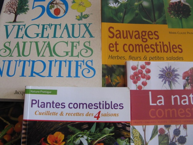 livres plantes sauvages comestibles
