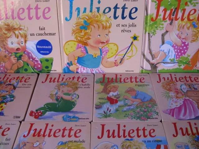 les différents formats des livres de Juliette de Doris Lauer