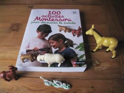 livre : 100 activités Montessori