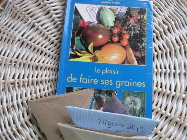 livre : faire ses graines facilement