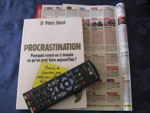 livre : les causes de la procrastination