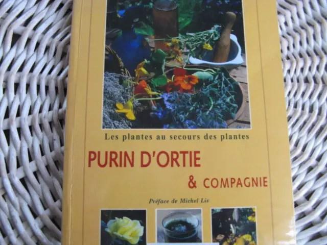 livres sur le purin et les extraits végétaux
