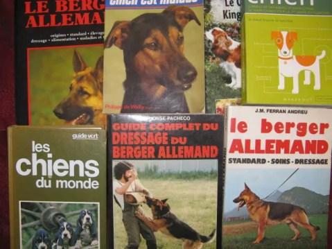 livres sur les chiens