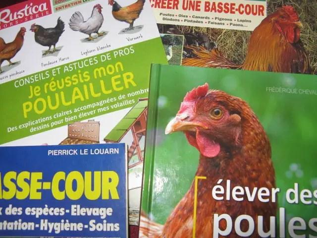 livres sur les poules
