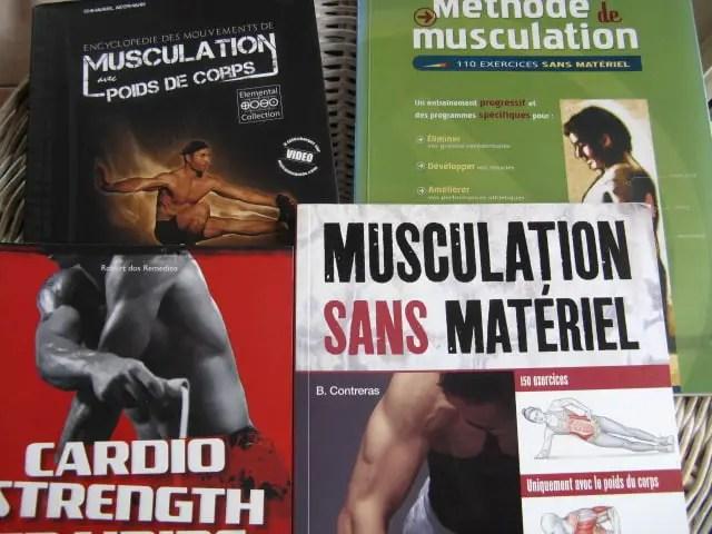 livres entraînement exercices de musculation