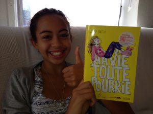 Léa est en cinquième au collège des Hautes Ourmes à Rennes
