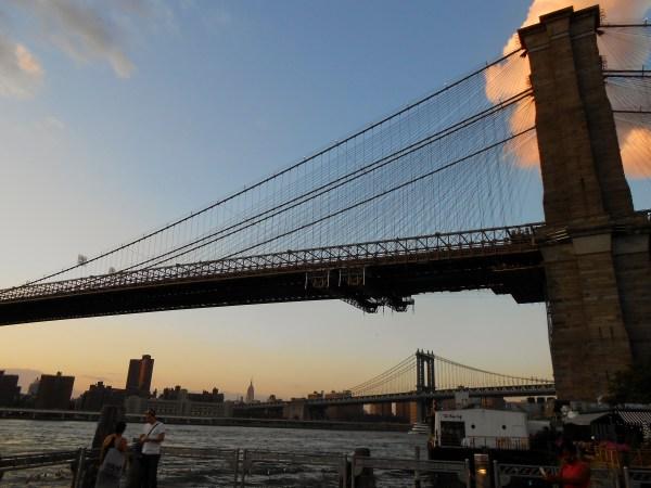 Brooklyn Bridge Construction