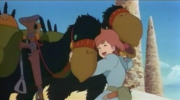 Sono Kai e Kui, una coppia di uccellacci neri usati come cavalcature, che vi pensate? Shhhcostumati!