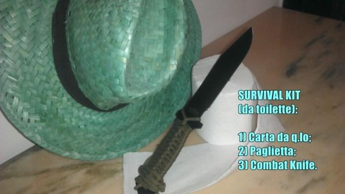 Survival Kit da toilette