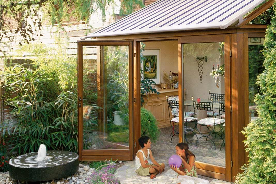 ... Gläserne Wohnzimmer Der Wintergarten » Livvide · Kleiner ...