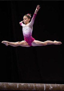 Olivia Dunne Junior International Elite Gymnast