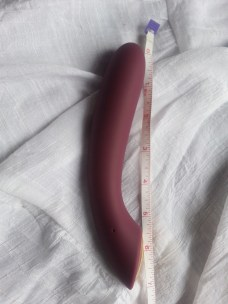 Roughly 7 inches