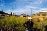 The réal boss of the Paul Ranch, in rural Oregon - Daniele Paul.