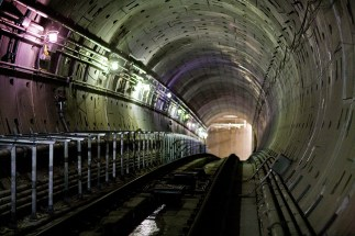 One of the Connector tunnels almost completed.