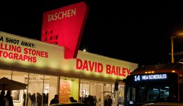The Taschen Gallery, a roomy new art space on Beverly Boulevard.