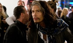 Back to the celebrities: Steven Tyler, of Aerosmith fame. I was hoping his daughter would show up. She did not.