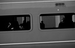 Passing train.