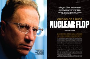 A recent ENR story on malfeasance in the nuclear industry.