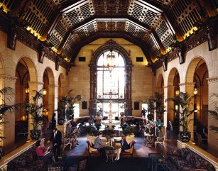 Not really a staging, in the real estate sense; The Biltmore Hotel.