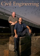 Another CE AECOM cover story, about the upgrading of a bridge near Sacramento, California, without upsetting the Mexican Free tailed bat community.
