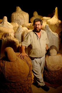 His lab in Lima was quite small, filled with many of his finds. These are just a few of the Lima mummies.