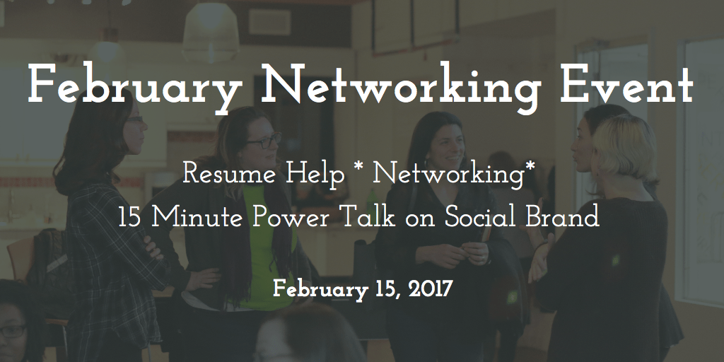 February Networking Event – 2017