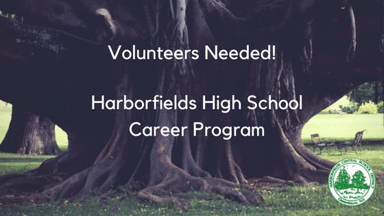 Volunteers Needed: Harborfields High School Career Program