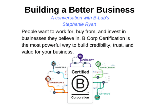 Recap: B-Lab – Building Better Businesses